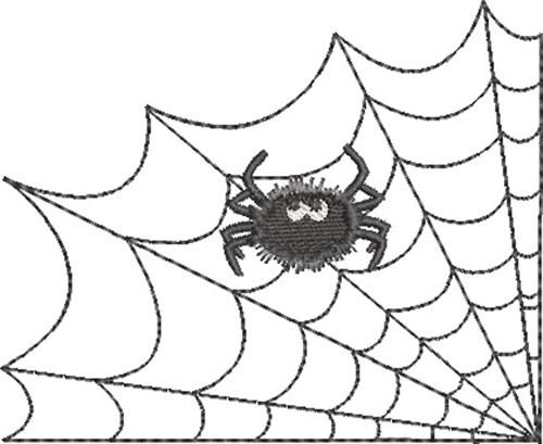 Spider Web Spider 4 Embroidery Designs Machine Embroidery Designs At Embroiderydesigns Com