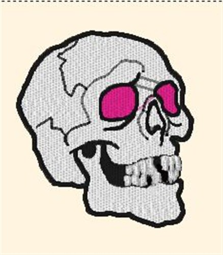 Creepy Skull Embroidery Designs Machine Embroidery Designs At