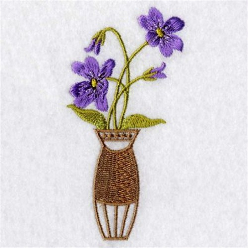Pretty flower vase embroidery designs machine embroidery designs at largeimg mightylinksfo