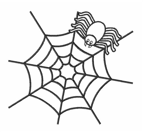 Spider Web Outline Embroidery Designs Machine Embroidery Designs At Embroiderydesigns Com
