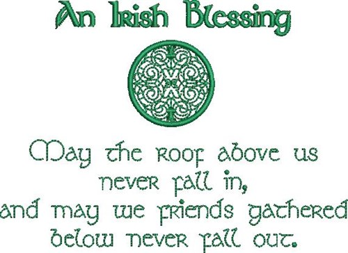 Image result for irish blessing roof above