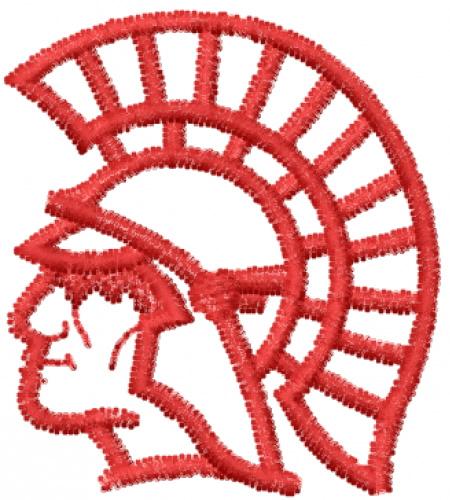 Warrior embroidery designs machine