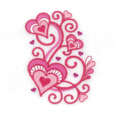 Jacobean Valentine Embroidery Designs Machine Embroidery Designs At