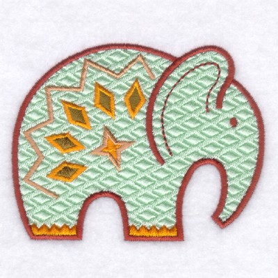 African Elephant Embroidery Designs Machine Embroidery Designs At