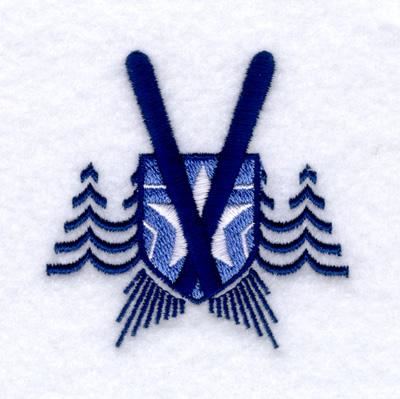 Downhill Ski Logo Embroidery Designs Machine Embroidery Designs At