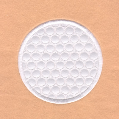 Golf Ball Embroidery Designs