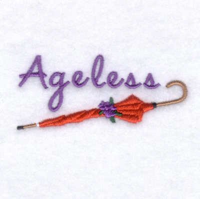 Ageless Embroidery Design