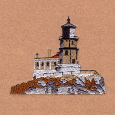 Lighthouse I Designs for Machine Embroidery On a CD or USB