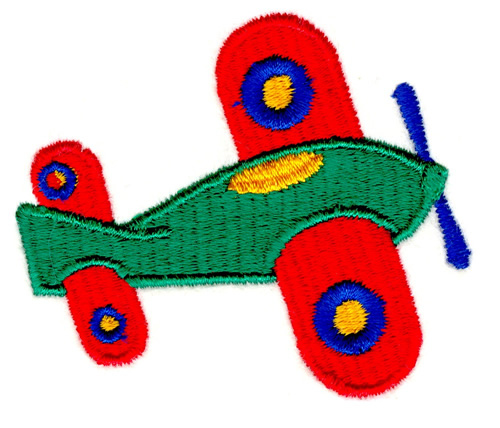 Free Machine Embroidery Airplane Designs