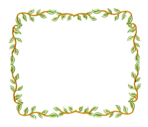 Leaf border embroidery designs free machine