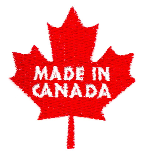 Made in canada embroidery designs machine