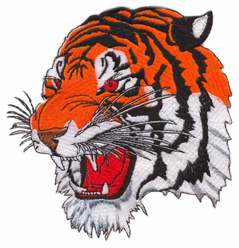 Tiger Head Embroidery Designs, Machine Embroidery Designs ...