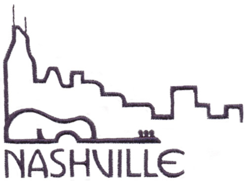 Skylines Nashville Embroidery Designs Machine Embroidery
