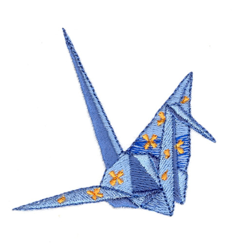 Origami crane design images galleries - Applique origami ...