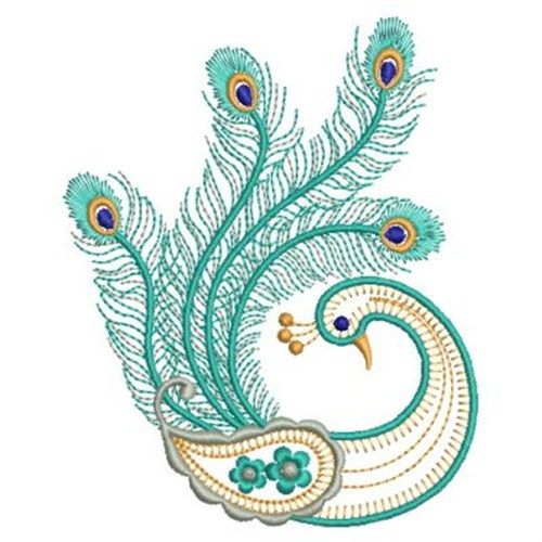 Embroidery Designs Peacocks Free
