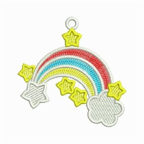 Fsl rainbow embroidery designs machine