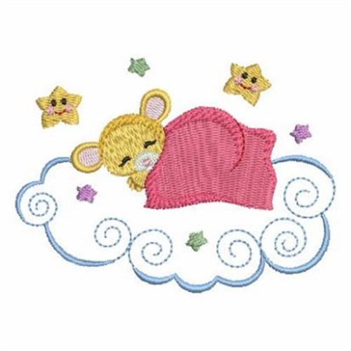Sleeping Mouse Embroidery Designs Machine Embroidery Designs At