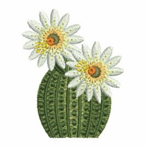 Cactus embroidery designs machine at