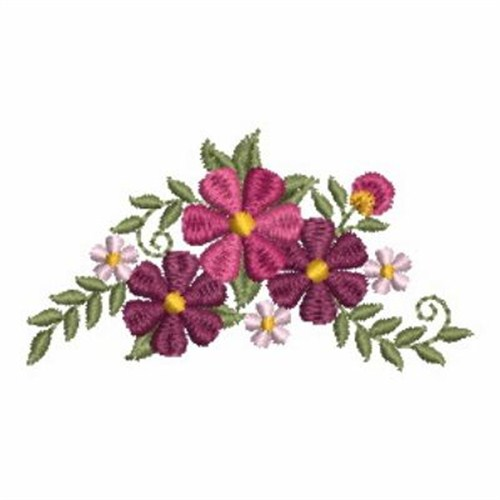 Flower Beauties Border Embroidery Designs Machine Embroidery