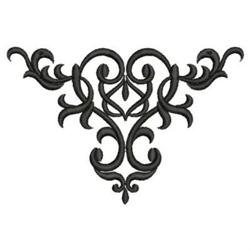 Wrought Iron Swirl Embroidery Designs, Machine Embroidery