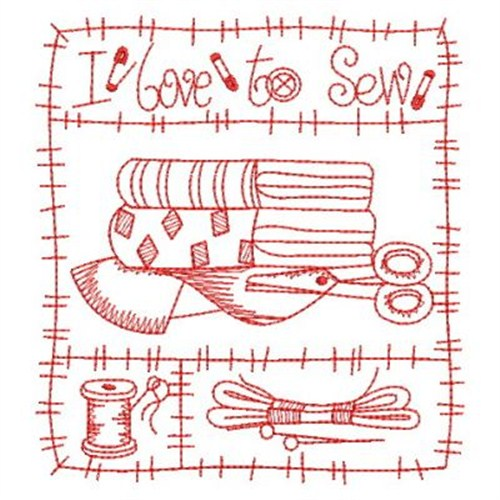 Redwork Sewing Embroidery Designs Machine Embroidery Designs At