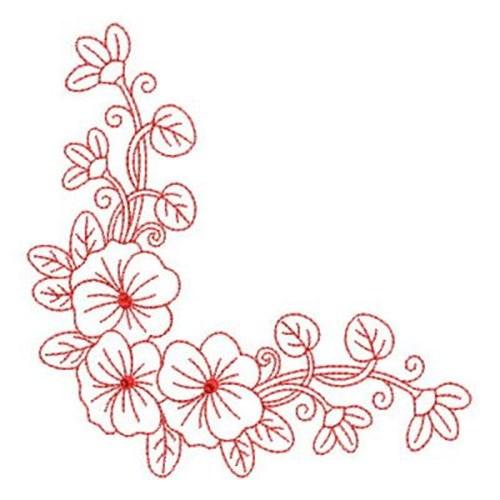 Machine Embroidery Flower Designs