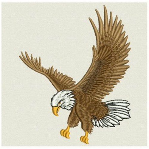 Flying Eagle Embroidery Designs Machine Embroidery