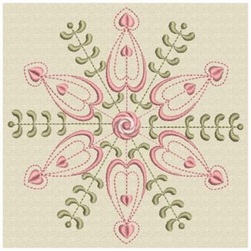 Rose quilt design embroidery designs machine