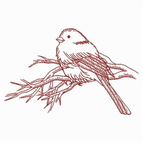 Redwork Birds Embroidery Designs Machine Embroidery Designs At
