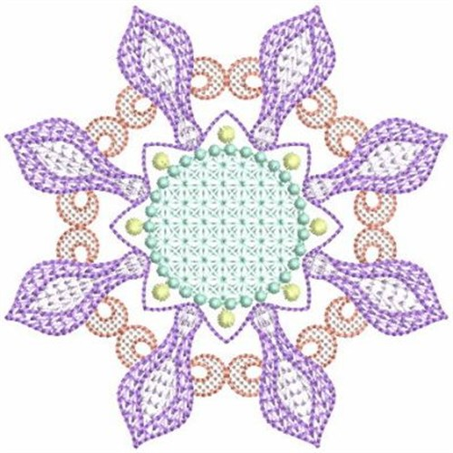 Geometric quilt block embroidery designs machine