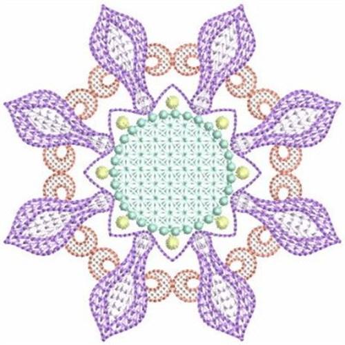 Geometric quilt block embroidery designs machine
