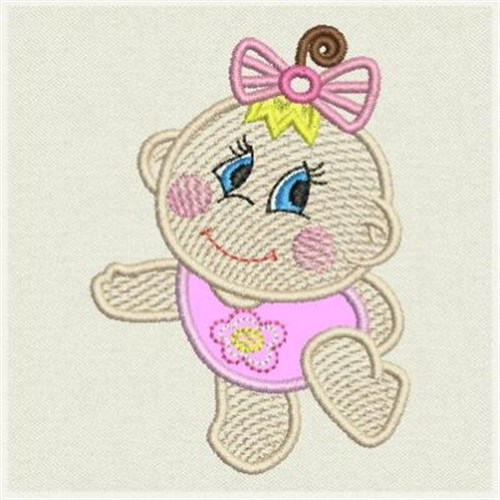 Fsl baby girl applique embroidery designs machine