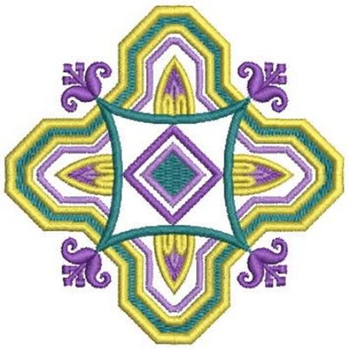 Artistic deco embroidery designs machine