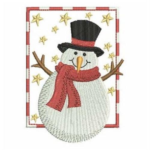 Christmas snowman embroidery designs machine