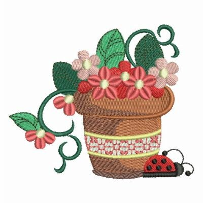 Garden embroidery designs machine embroidery designs at for Garden embroidery designs free
