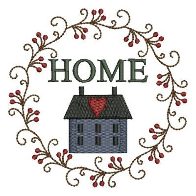 Country Home Sweet Home Embroidery Designs Machine Embroidery