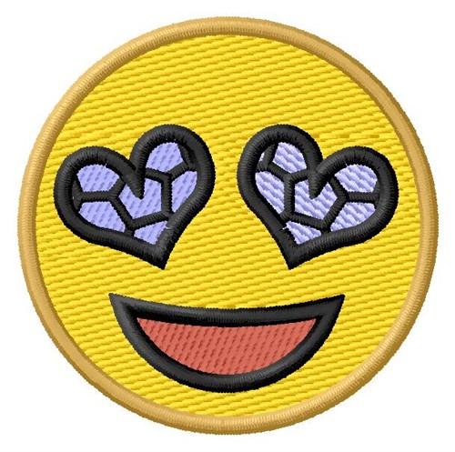 Love Soccer Emoji Embroidery Designs Machine Embroidery Designs At EmbroideryDesigns.com