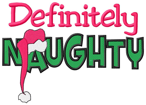 Definitely Naughty Embroidery Designs Machine Embroidery Designs At