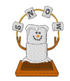 machine embroidery smore designs | just b.CAUSE