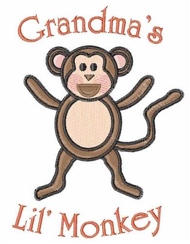 Grandmas Lil Monkey Embroidery Designs Free Machine Embroidery