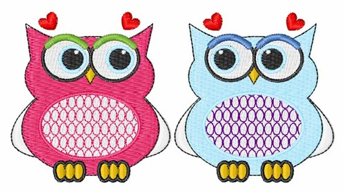 Valentine Owls Embroidery Designs Free Machine Embroidery Designs