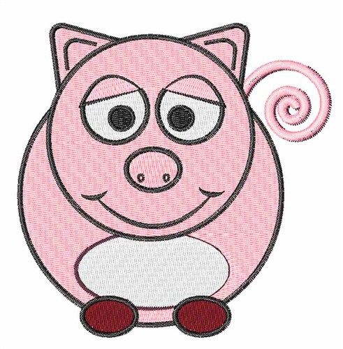 Free Machine Embroidery Designs Piggy