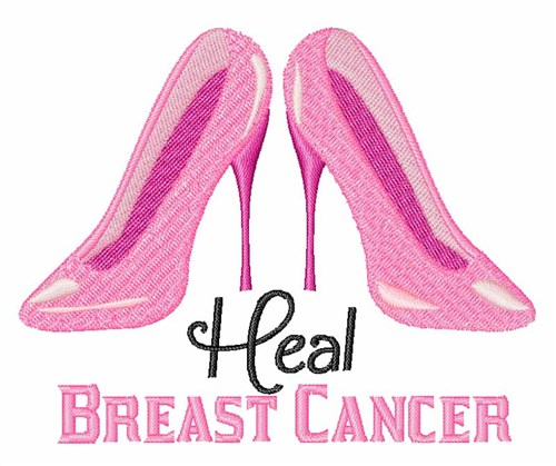 Heal cancer embroidery designs machine