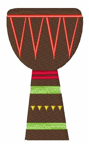 African Djembe Drum Embroidery Designs Machine Embroidery Designs