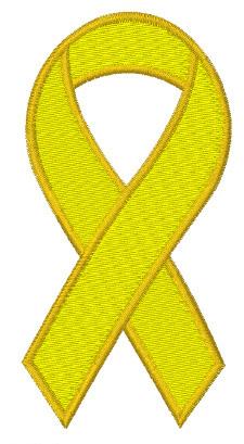 Yellow Ribbon Embroidery Designs Machine Embroidery Designs At EmbroideryDesigns.com