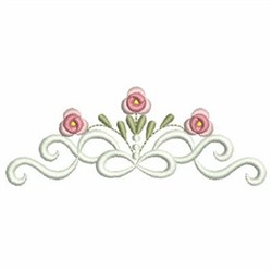 Heirloom Ribbons Border Embroidery Designs Machine