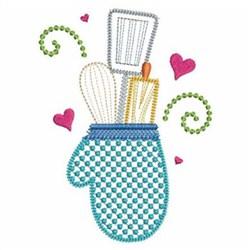 Kitchen Utensils Embroidery Designs, Machine Embroidery ...