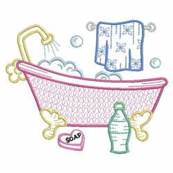 Bath Scene Embroidery design pack by Ace Points, Foods ...