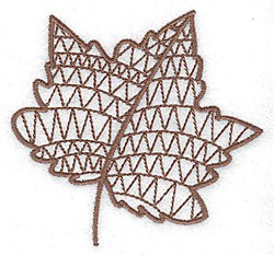 Black Maple Leaf Embroidery Designs Machine Embroidery