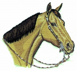 Quarter Horse Embroidery Designs Machine Embroidery